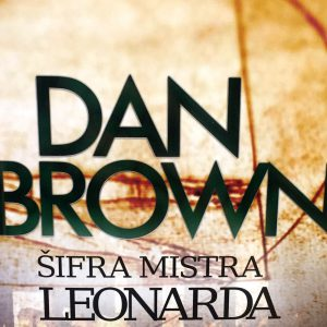 Šifra mistra Leonarda, Dan Brown.