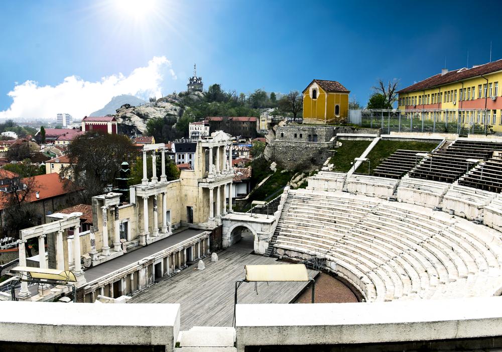 ...a římský amfitéatr.