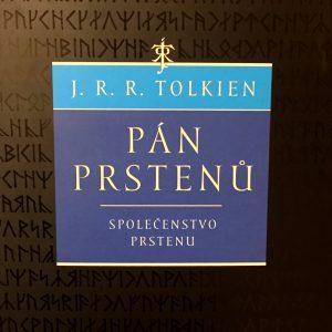 Společenstvo Prstenu, J. R. R. Tolkien.