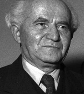 Zakladatel a první premiér Izraele David Ben-Gurion byl ateista.