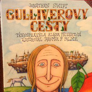 Gulliverovy cesty, Jonathan Swift.