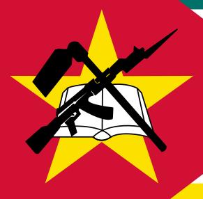 Na vlajce Mosambiku je AK-47.