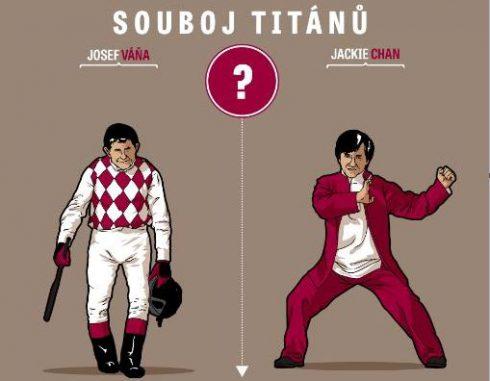 Žokej Váňa versus Jackie Chan