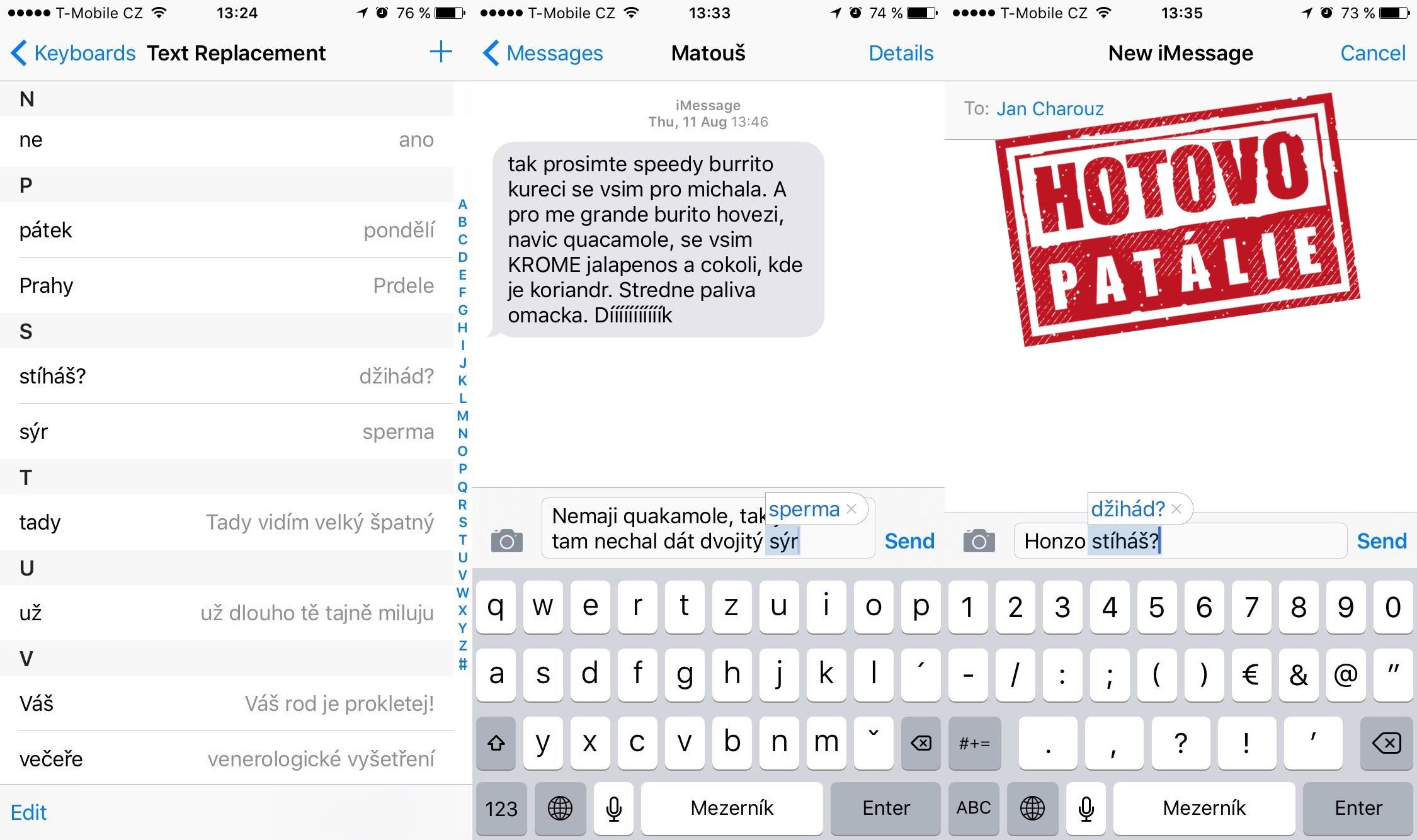 iPhone hackStamp