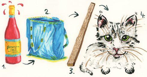 Patálie Simony Ó.: Díl šestý: O kočkách, policajtech a příliš krátkých prknech