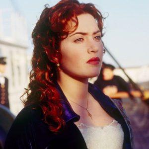 Kate Winslet v Titaniku.