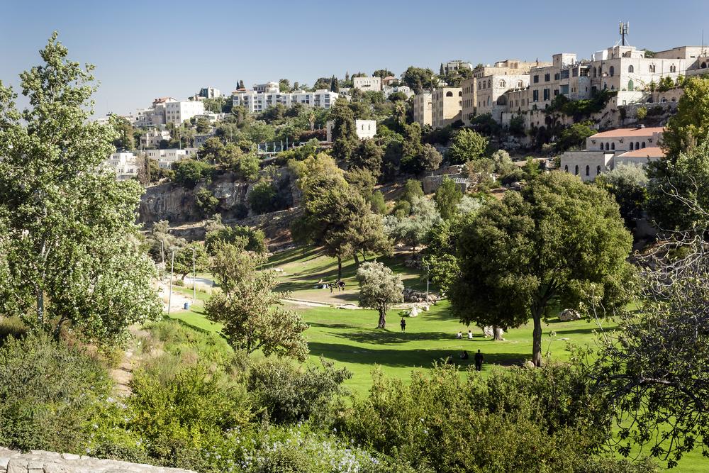 Údolí Gehenna dnes