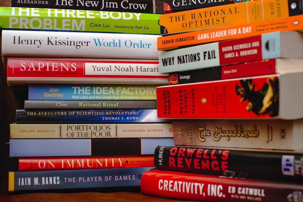 Knihy, které v roce přečetl Mark Zuckerberg.