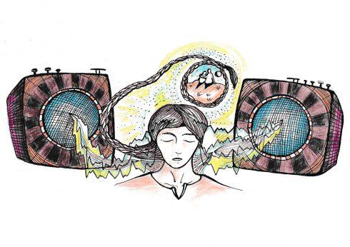 """Také se vám při poslechu hudby občas zježí chlupy na zátylku? Máte """"jiný"""" mozek, tvrdí studie."""