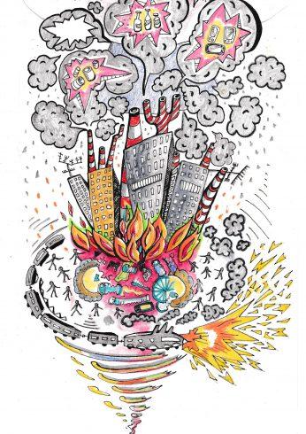Skrytý zabiják: znečištěný vzduch zabíjí miliony lidí v rozvojových zemích