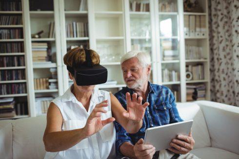 Jak může virtuální realita pomoci mentálnímu zdraví důchodců?