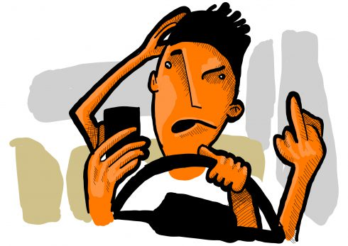 Řídíte s ADHD? Pak zapomeňte na Facebook!