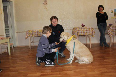 Kalyna Kardash: Děti,  které zažily válku, mají obrovské emocionální problémy. Řeší je psi.