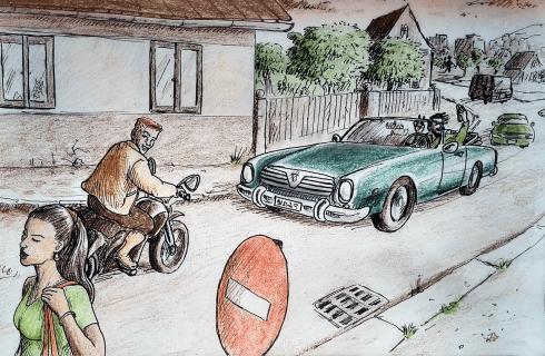 Být předvídatelný a myslet i za ostatní. Jak vám šedesát let stará poučka může za volantem zachránit život?