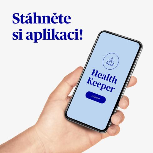 """Nová výzva v aplikaci Health Keeper – """"Každý krok je výhra"""""""